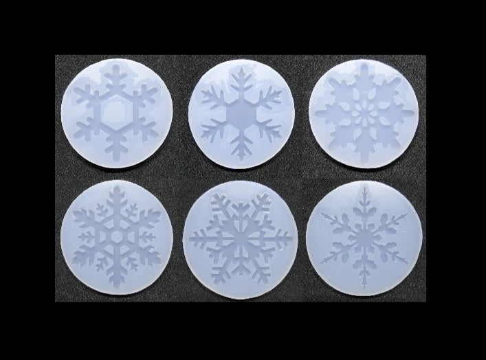 Christmas snow flake mold | Snow flakes mould | Silicon mold