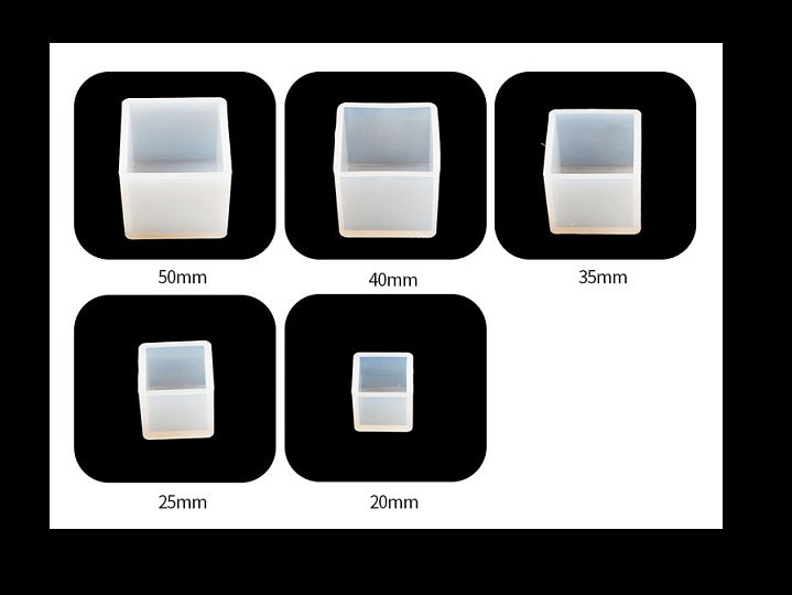 Square mould | 3D mould | Silicon mould | UV resin mould | Square beads mould