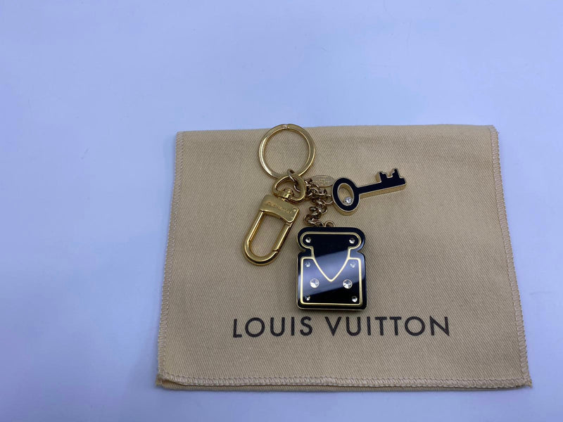 Lock & Key Bag Charm
