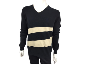 Louis Vuitton Spiral V-Neck Sweater - Luxuria & Co.