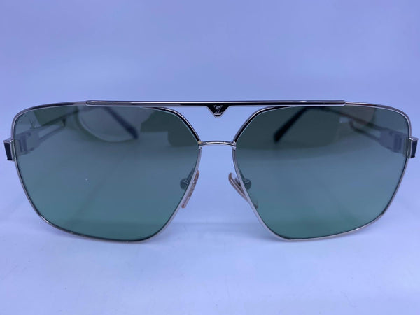 Space Mission Silver Sunglasses