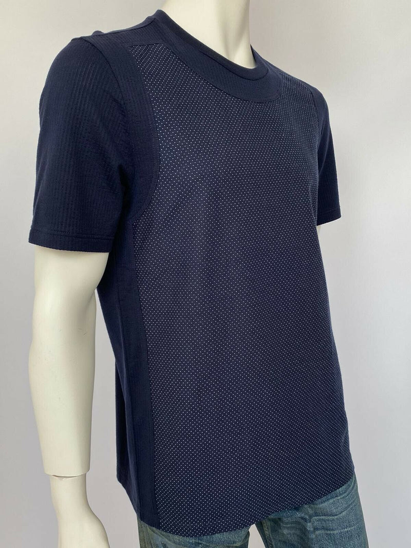 Louis Vuitton Spotted Denim Front T-Shirt - Luxuria & Co.