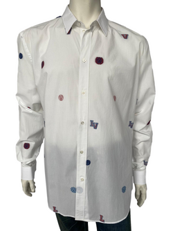 Louis Vuitton Classic Shirt With Stamps - Luxuria & Co.