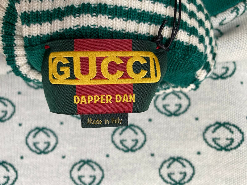 Gucci Dapper Dan Wool GG Turtleneck Sweater - Luxuria & Co.