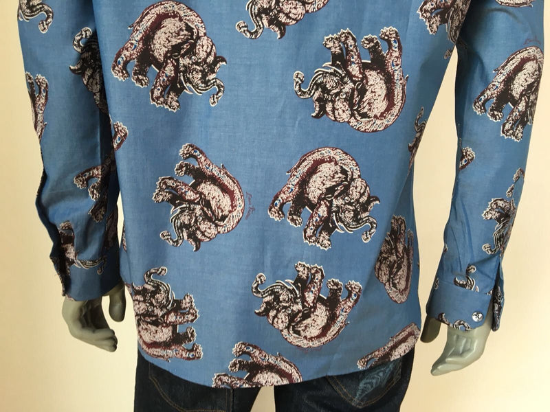 Louis Vuitton Limited Chapman Elephant Classic Shirt - Luxuria & Co.