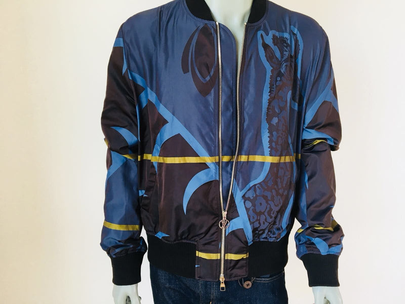 Louis Vuitton Limited Chapman Giraffe Bomber - Luxuria & Co.