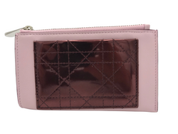 Dior Lady Dior Small Calfskin Coin Purse - Luxuria & Co.