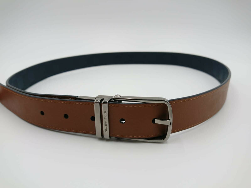 Louis Vuitton Boston Damier Infini Reversible Belt - Luxuria & Co.