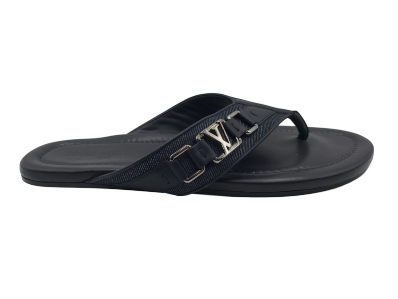 Louis Vuitton Denim Sandals - Luxuria & Co.