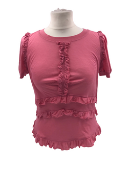 Louis Vuitton Frilled Shirt - Luxuria & Co.
