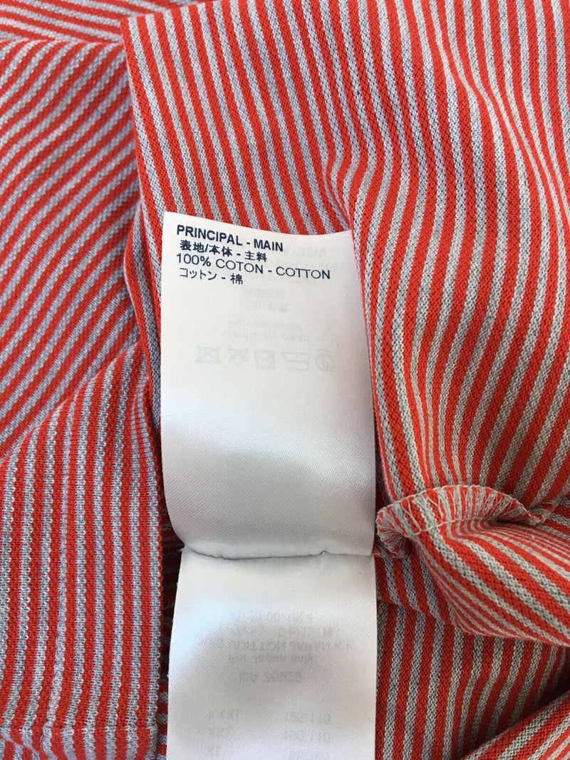 Louis Vuitton Fil a Fil Striped Polo - Luxuria & Co.