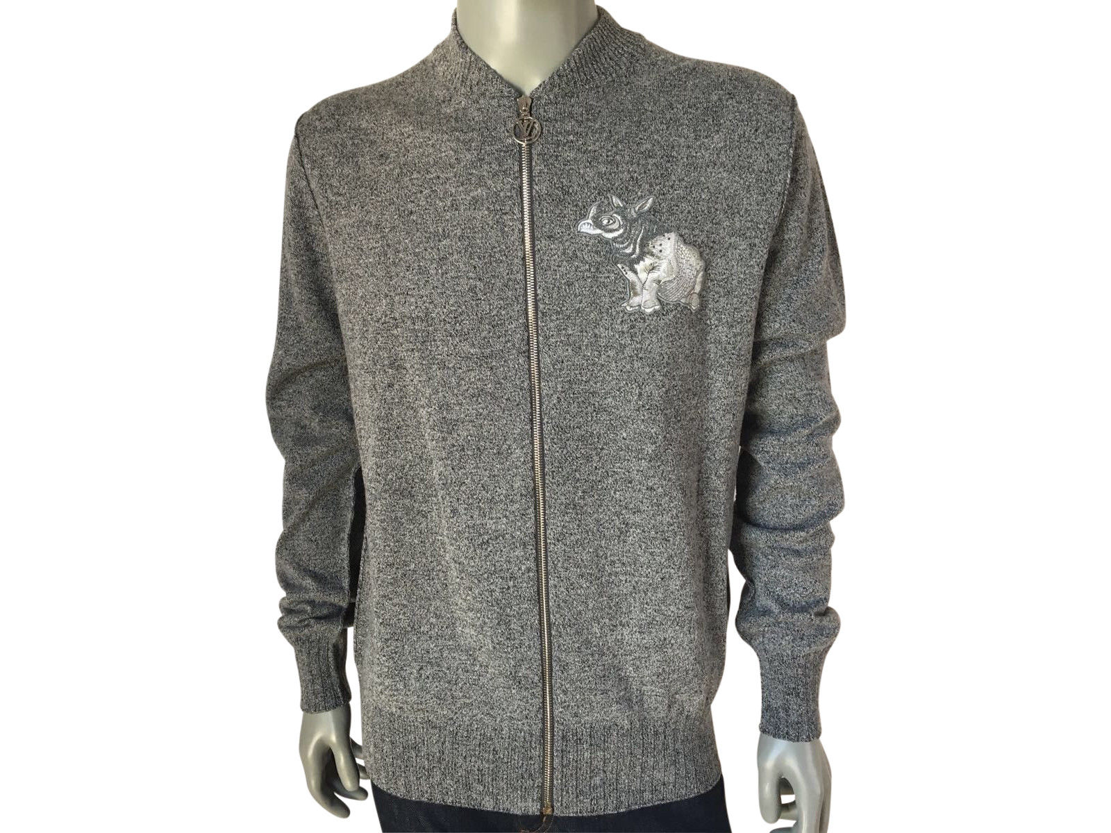 1230c9b95f57 Limited Chapman Rhinoceros Patch Sweater – Luxuria   Co.