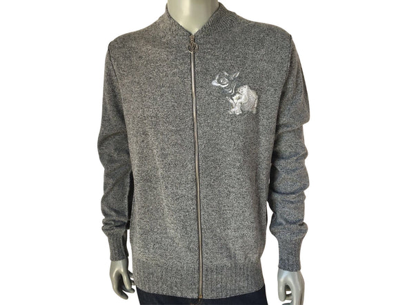 Louis Vuitton Limited Chapman Rhinoceros Patch Sweater - Luxuria & Co.