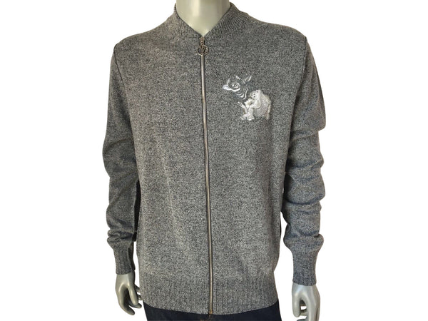 Chapman Rhinoceros Patch Sweater - Luxuria & Co.