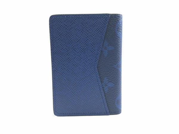 Louis Vuitton Taigarama Cobalt Pocket Organizer - Luxuria & Co.