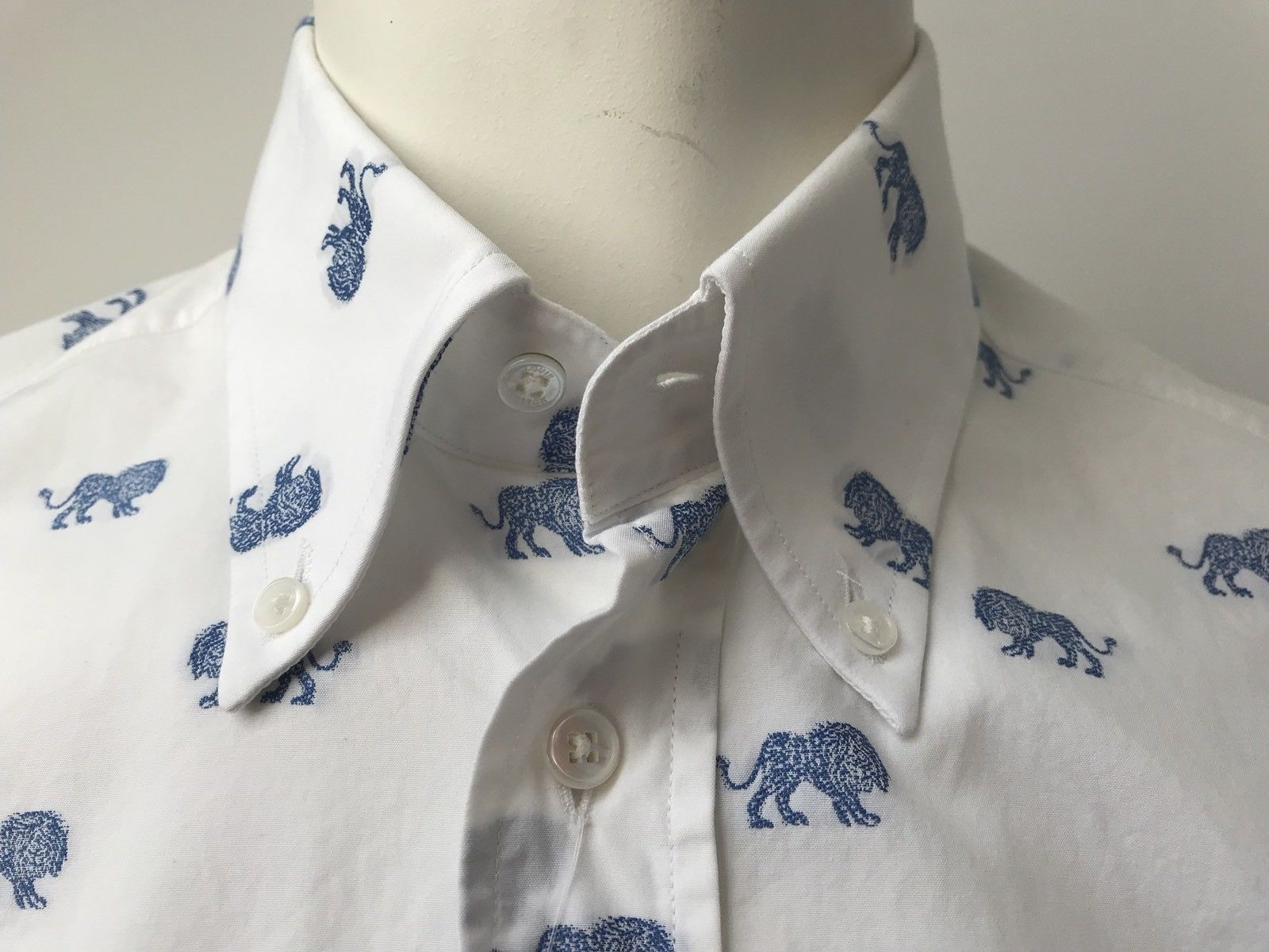 92216db6fb84 Limited Emblem Lion Shirt – Luxuria   Co.