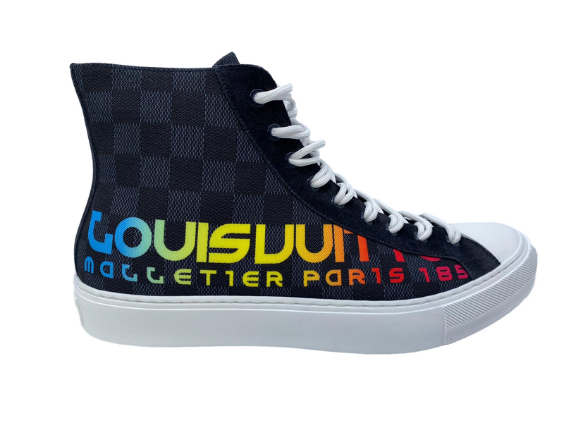 Louis Vuitton Kim Jones Tattoo Sneaker Boot - Luxuria & Co.