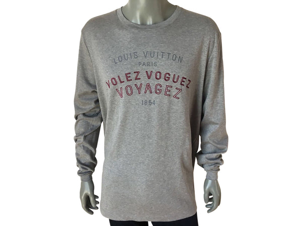 "Louis Vuitton ""Volez Voguez Voyagez"" Shirt - Luxuria & Co."