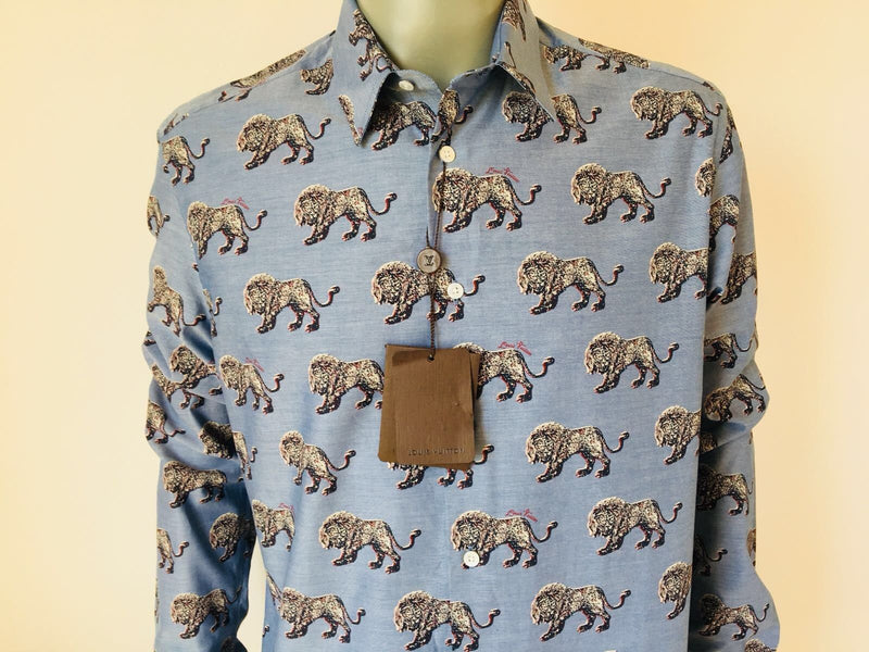 Louis Vuitton Chapman Lion Classic Shirt - Luxuria & Co.