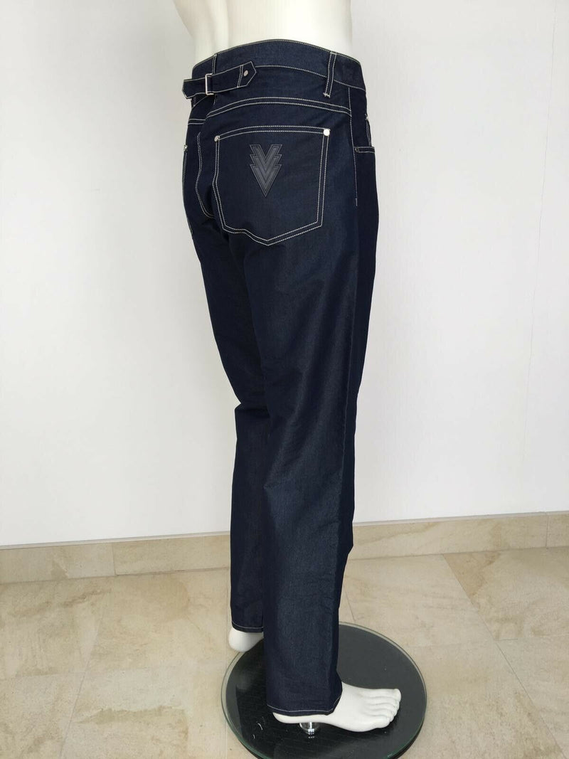 Louis Vuitton Indigo Tech Cotton Jeans - Luxuria & Co.