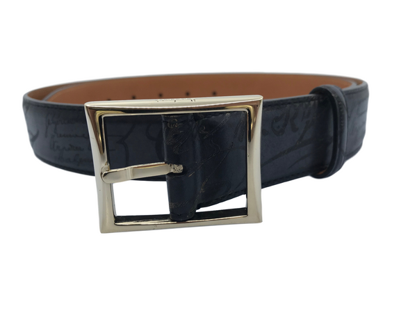 Berluti Scritto Incisione Belt - Luxuria & Co.