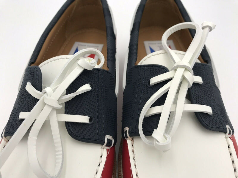 Louis Vuitton America's Cup Marine Boat Shoe - Luxuria & Co.