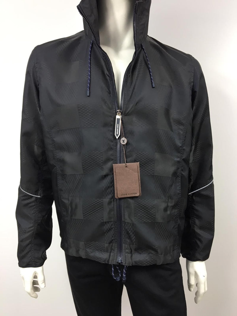 Louis Vuitton Latitude Hooded Damier Windbreaker - Luxuria & Co.