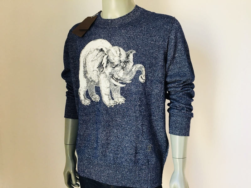 Louis Vuitton Limited Chapman Elephant Crewneck - Luxuria & Co.
