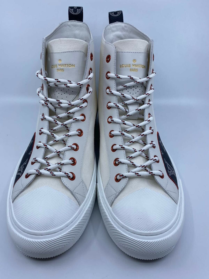 Tattoo Sneaker Boot Upside Down LV