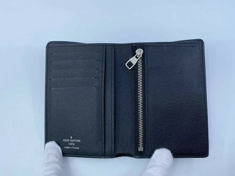 Louis Vuitton Damier Graphite Bifold Wallet With Coin Compartment - Luxuria & Co.