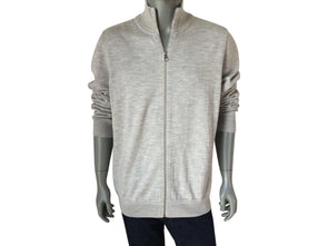 Louis Vuitton Leather Patch Cardigan - Luxuria & Co.