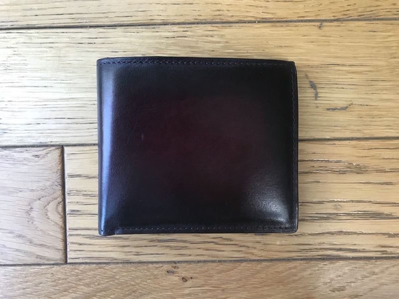 Berluti Makore Leather Compact Wallet - Luxuria & Co.