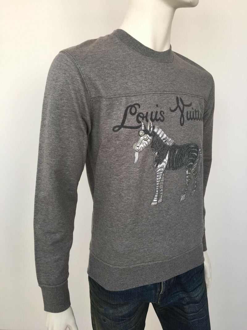 Louis Vuitton Chapman Zebra Sweater - Luxuria & Co.
