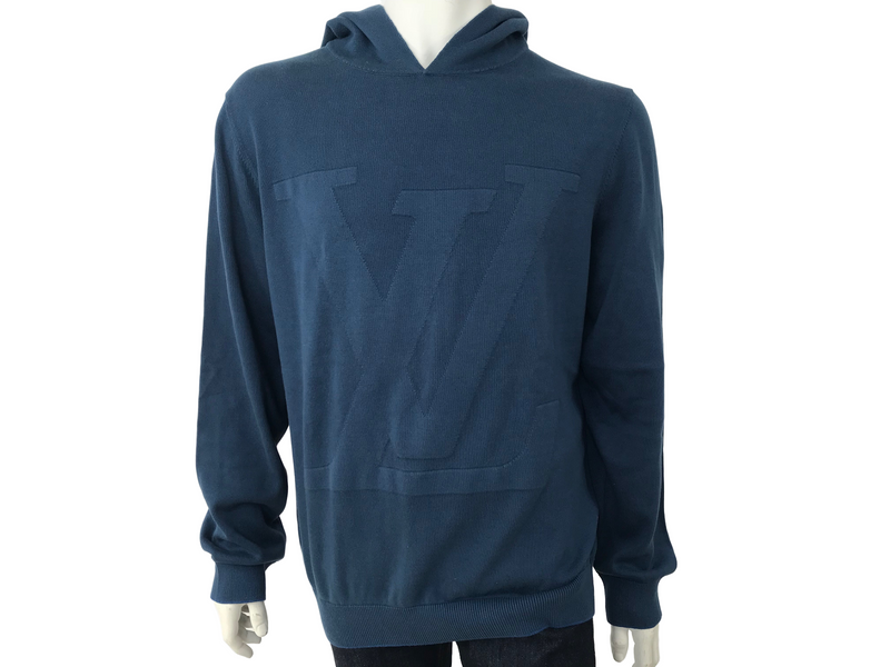 Louis Vuitton LV Logo Hooded Sweater - Luxuria & Co.