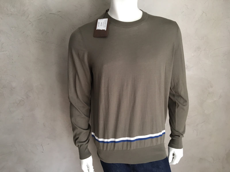 Louis Vuitton Jacquard Crewneck - Luxuria & Co.