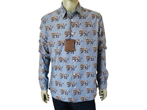 0b02cc1c599e Louis Vuitton Limited Chapman Lion Classic Shirt - Luxuria ...