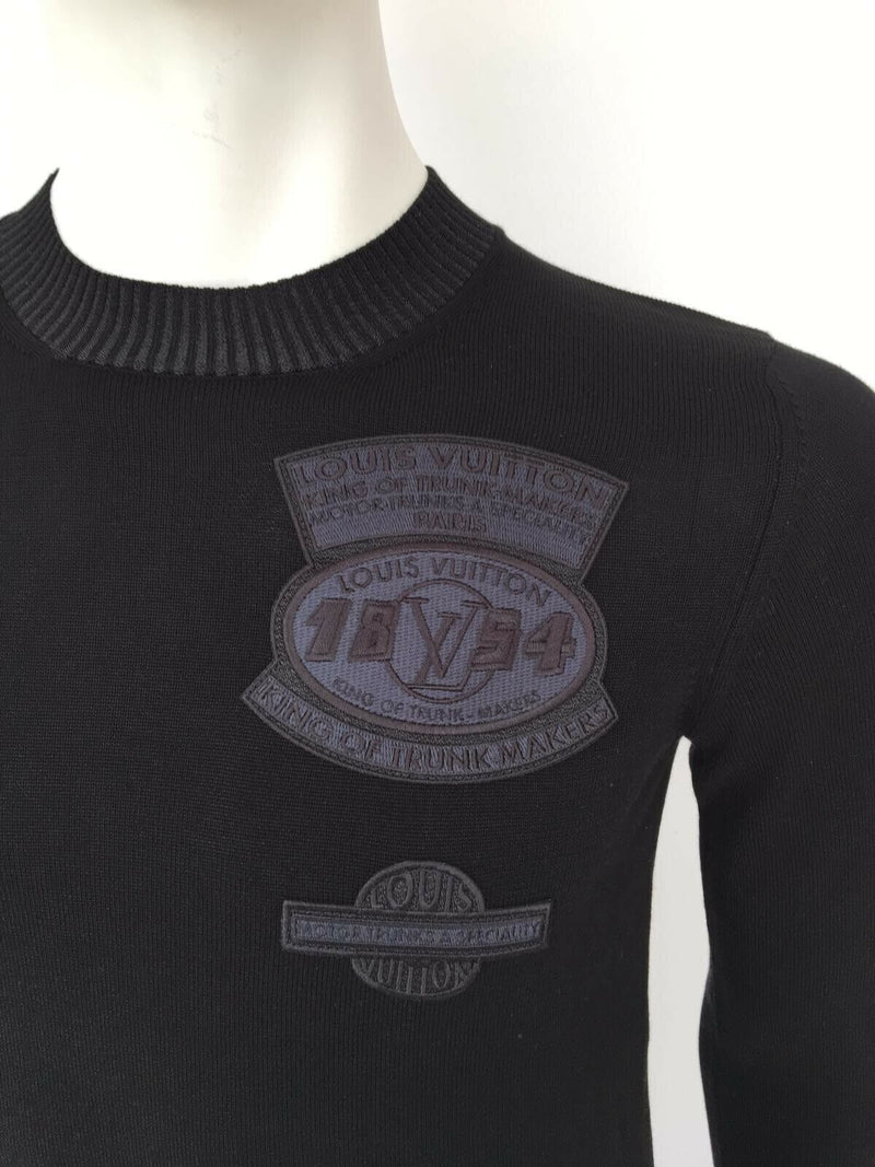 Fine Patches Crewneck Sweater
