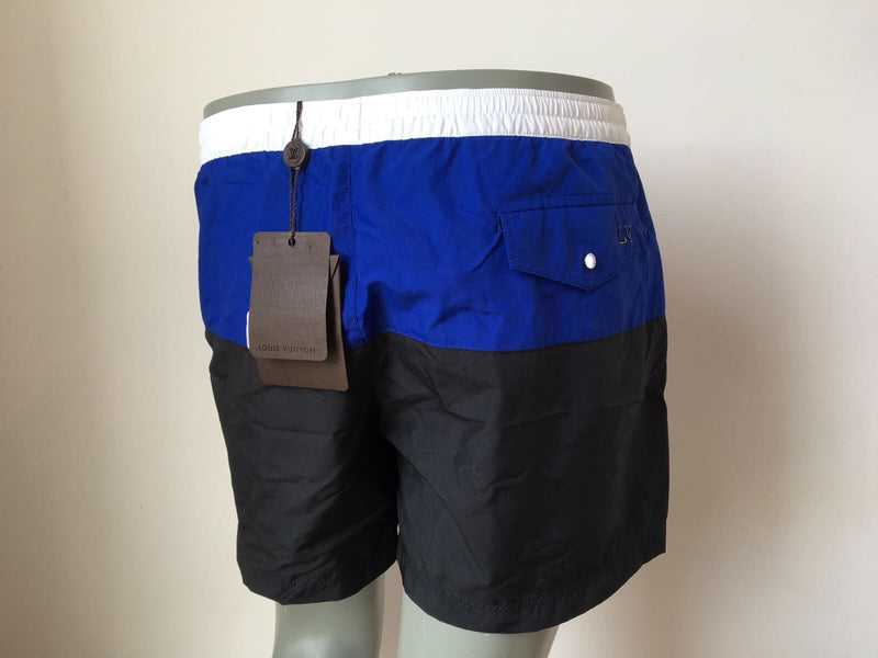 Louis Vuitton Black Blue Swim Shorts - Luxuria & Co.