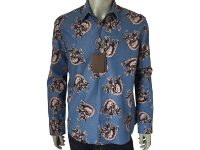 686d14528287 Louis Vuitton Limited Chapman Elephant Classic Shirt - Luxuria ...