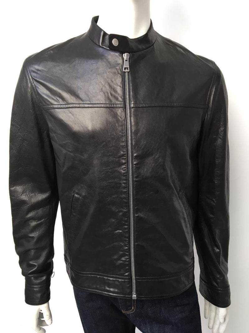Gucci Lamb Leather Jacket - Luxuria & Co.