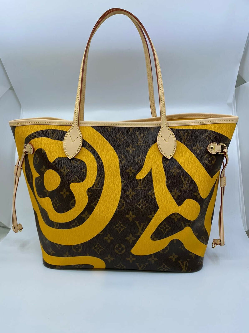 Louis Vuitton Neverfull MM Tahitienne Cancun with Pochette - Luxuria & Co.
