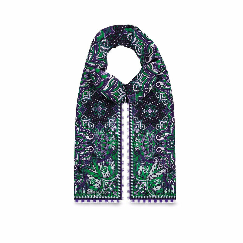 Louis Vuitton Monogram Flower Stole - Luxuria & Co.