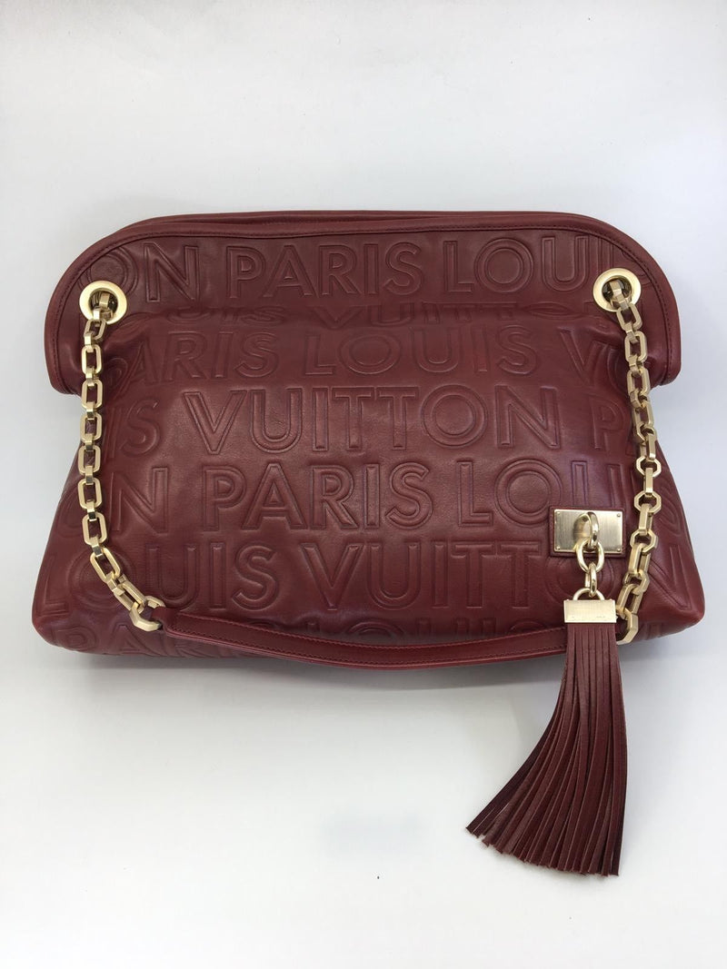 Louis Vuitton Limited Edition Paris Wish Bag - Luxuria & Co.