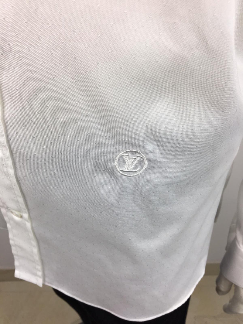 Louis Vuitton Button Down Emblem - Luxuria & Co.