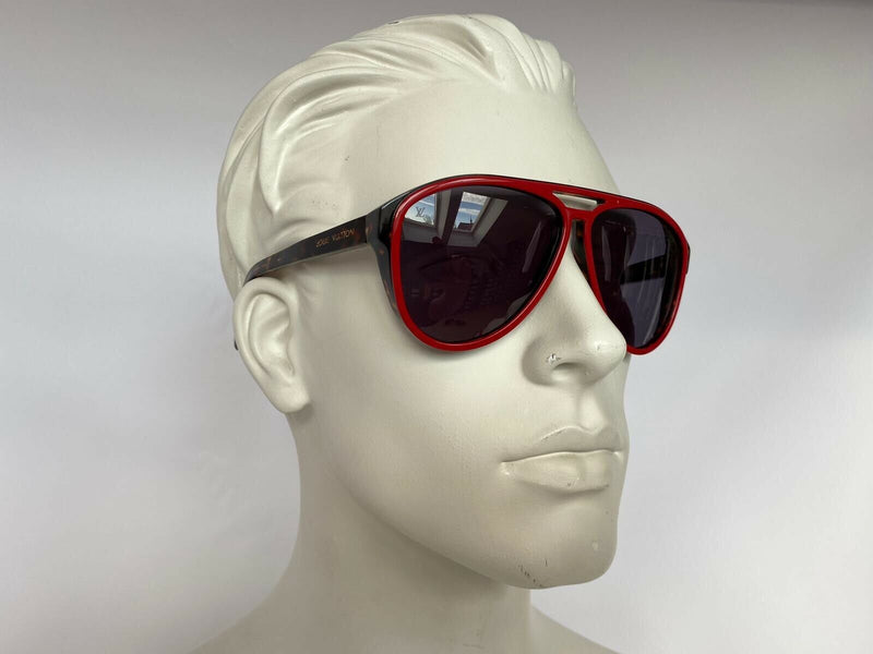 Louis Vuitton Mowani Red W Sunglasses - Luxuria & Co.