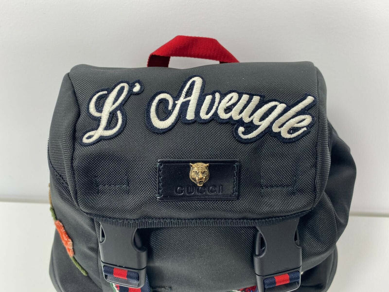 Gucci L'Aveugle Par Amour Techpack Backpack - Luxuria & Co.