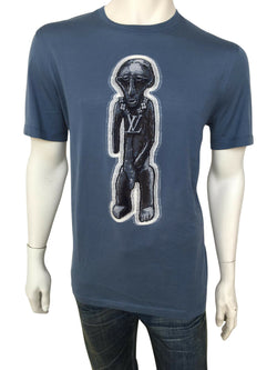 Louis Vuitton Chapman Zulu Statue T-Shirt - Luxuria & Co.