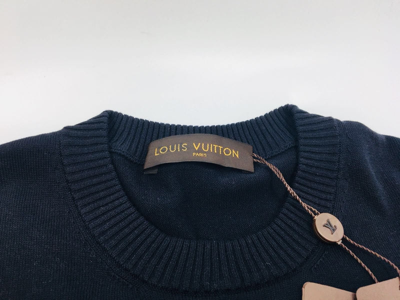 Louis Vuitton Graphic V Crewneck - Luxuria & Co.