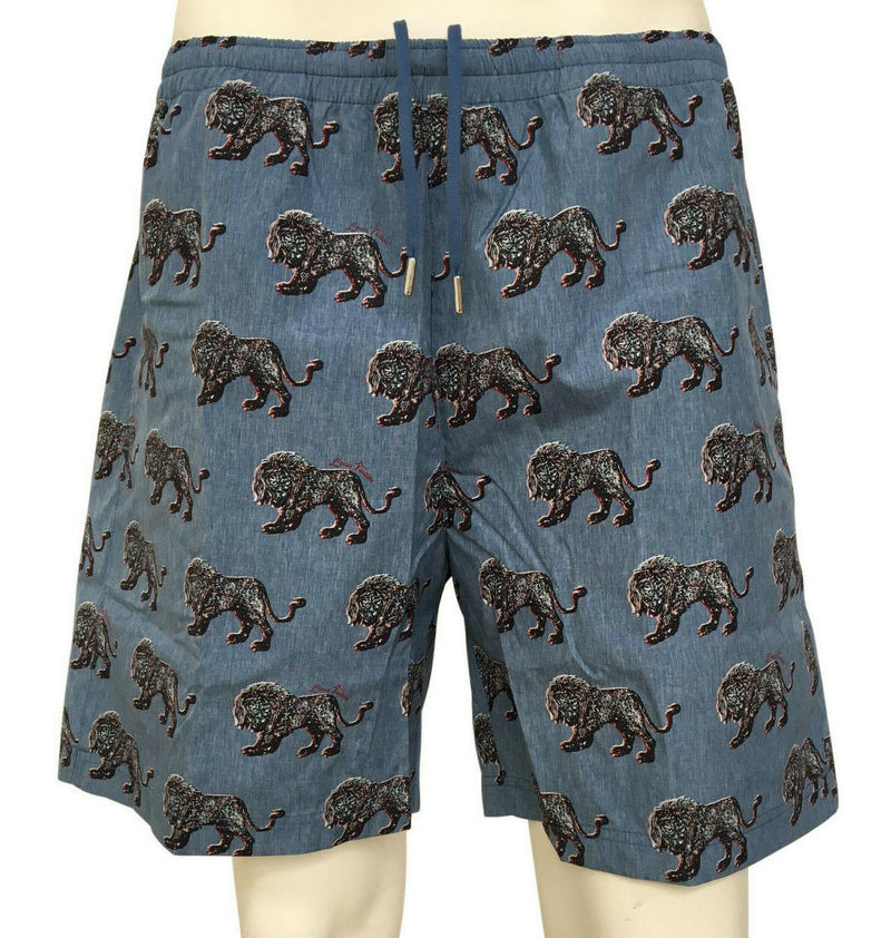 Louis Vuitton Chapman Lion Board Shorts - Luxuria & Co.