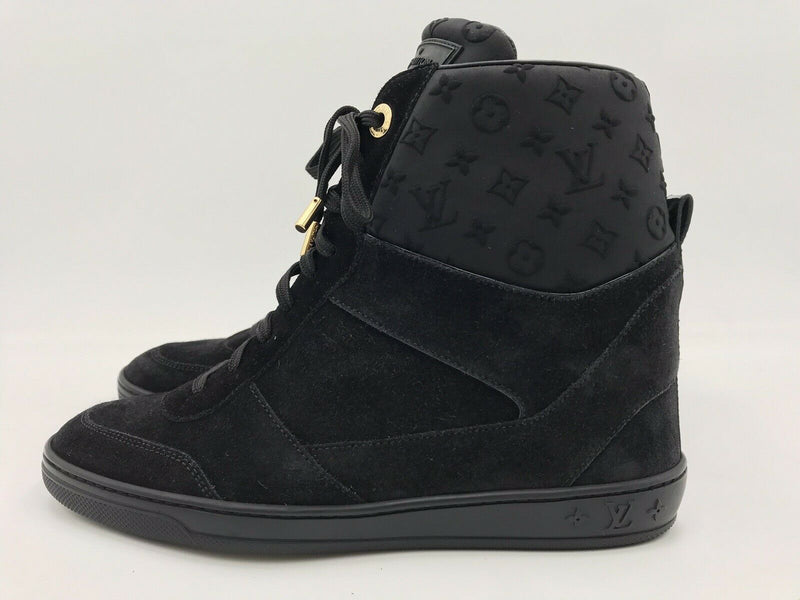 Louis Vuitton Millenium Wedge Sneaker - Luxuria & Co.